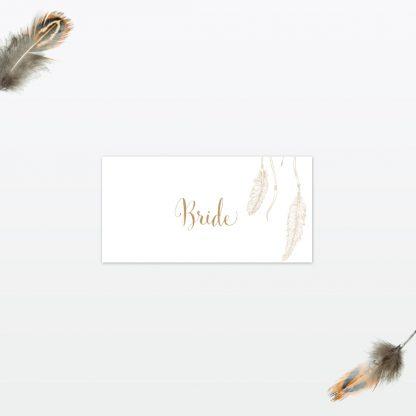 dreamcatcher wedding place card min 1