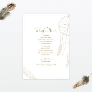 dreamcatcher wedding table menu2 min 1